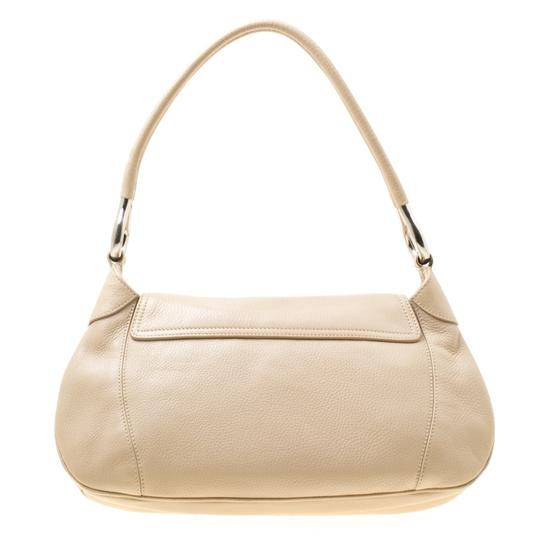 Prada Leather Nylon Shoulder Bag Image 1