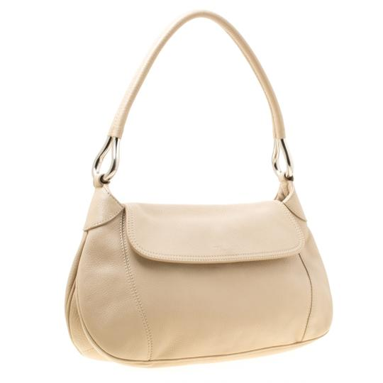 Prada Leather Nylon Shoulder Bag Image 4