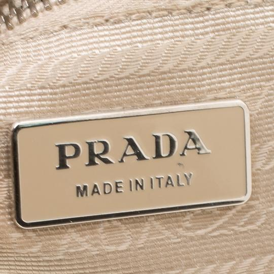 Prada Leather Nylon Shoulder Bag Image 7
