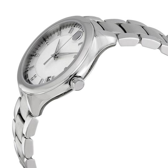 Movado Bellina Stainless Steel Mother of Pearl Diamond 0606978 Image 2
