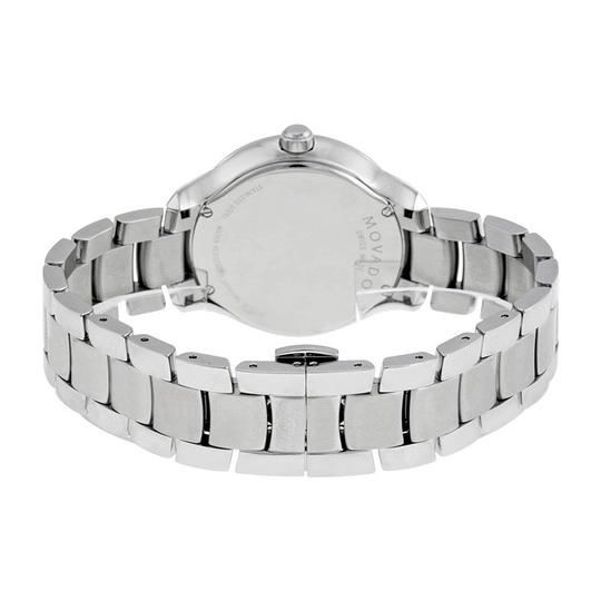Movado Bellina Stainless Steel Mother of Pearl Diamond 0606978 Image 6