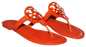 Tory Burch Miller Logo red Sandals
