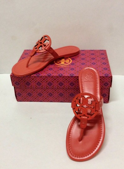 Tory Burch Miller Logo red Sandals Image 1