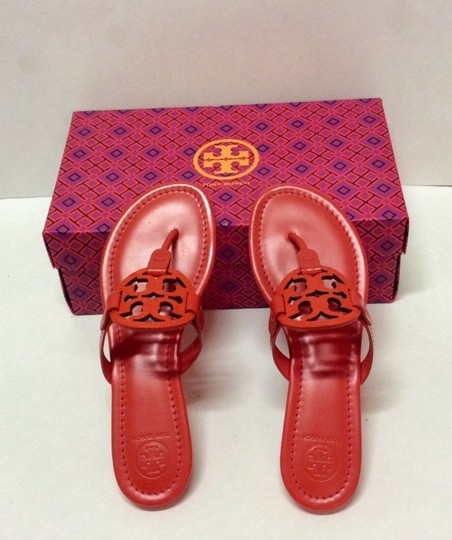 Tory Burch Miller Logo red Sandals Image 2