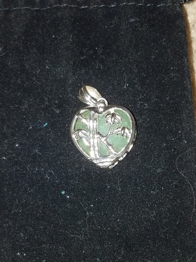 Unknown 6-in-1 Color Change Pendant in Sterling Silver - Flowers & Bamboo Image 11
