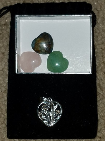 Unknown 6-in-1 Color Change Pendant in Sterling Silver - Flowers & Bamboo Image 4
