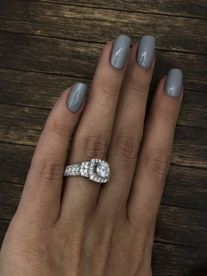 18k White Gold with 2.51ct. Engagement Ring Image 4