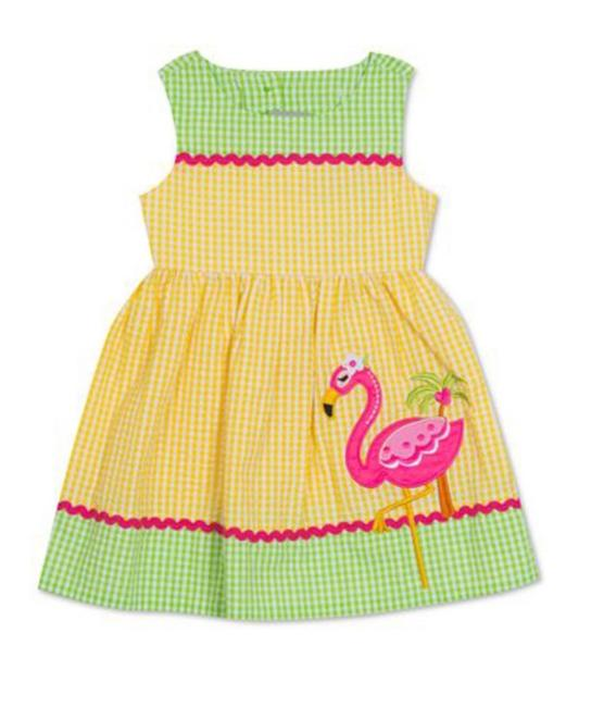 Rare Editions short dress yellow/green/hot pink/ SIZE 3/6 Months on Tradesy Image 1