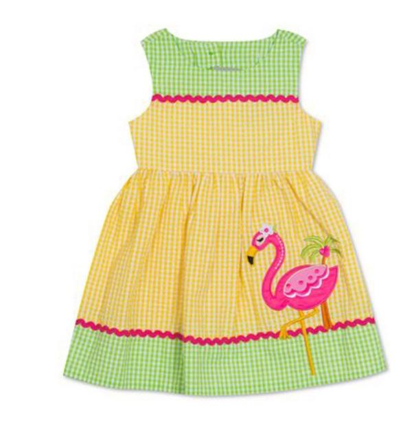 Rare Editions short dress yellow/green/hot pink/ SIZE 3/6 Months on Tradesy Image 2