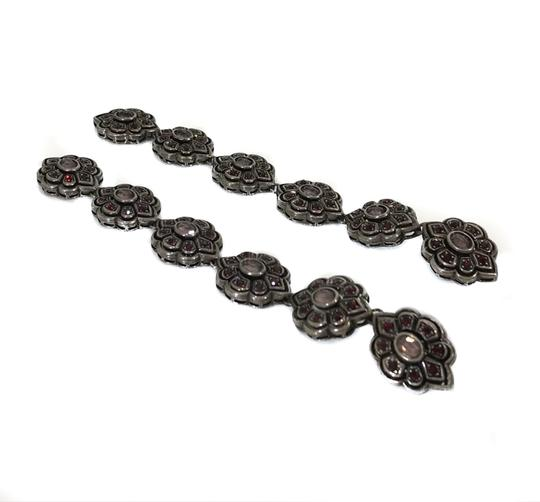 Gucci NEW GUCCI 404823 Extra Long Swarovski Crystals Earrings Image 5