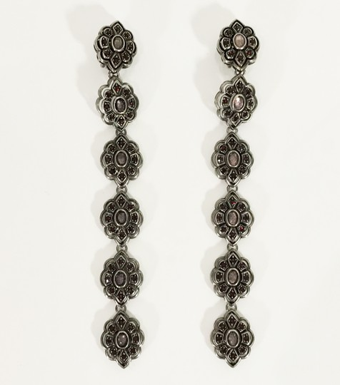 Gucci NEW GUCCI 404823 Extra Long Swarovski Crystals Earrings Image 6