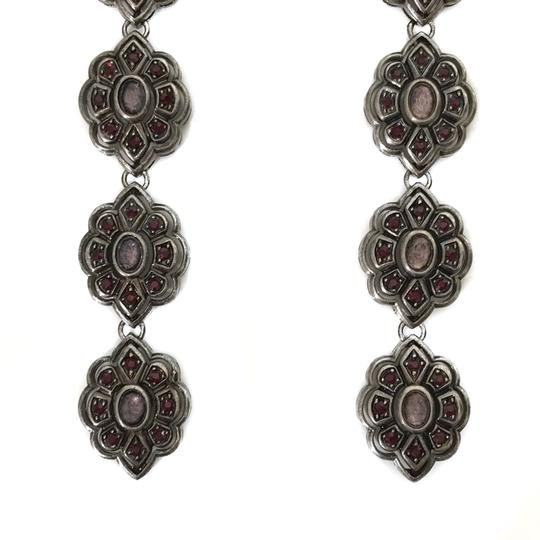 Gucci NEW GUCCI 404823 Extra Long Swarovski Crystals Earrings Image 7