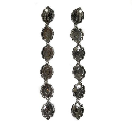 Gucci NEW GUCCI 404823 Extra Long Swarovski Crystals Earrings Image 9