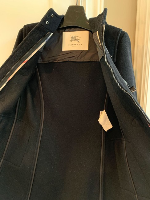 Burberry Burberrytrench Burberrycoat Burberryduffle Pea Coat Image 2