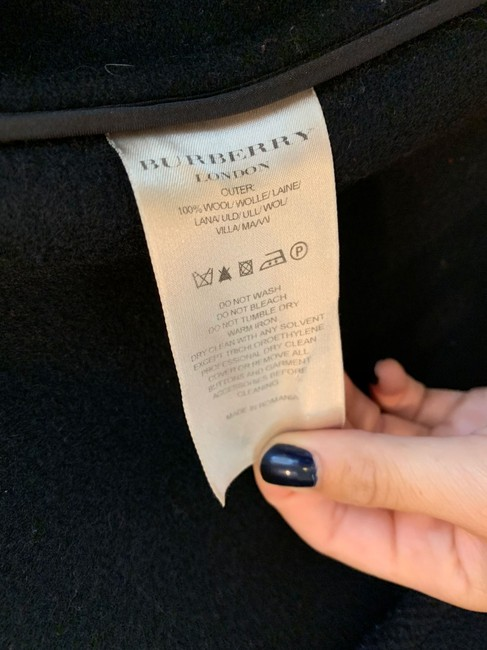 Burberry Burberrytrench Burberrycoat Burberryduffle Pea Coat Image 4