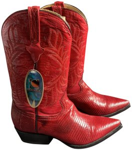 Cuadra Red Boots