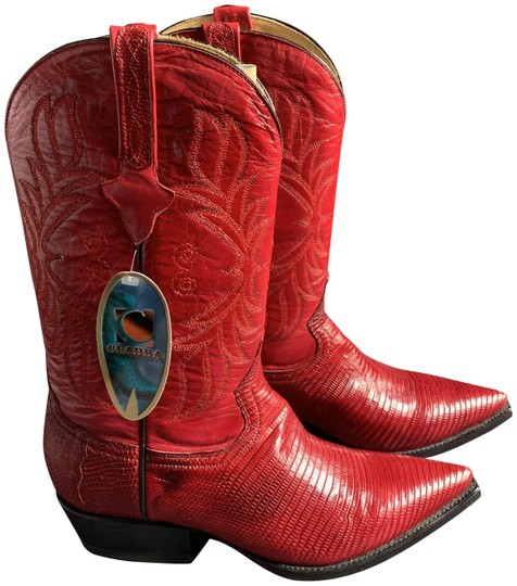 Cuadra Red Boots Image 0