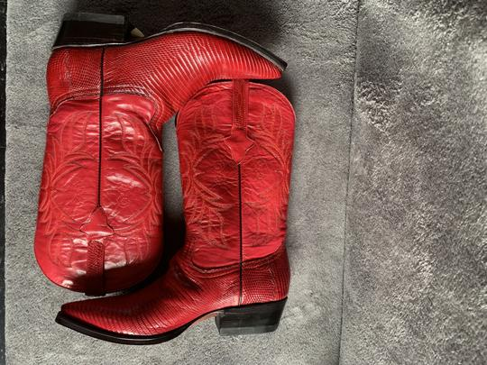 Cuadra Red Boots Image 1