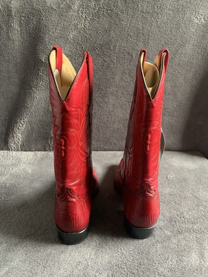 Cuadra Red Boots Image 2