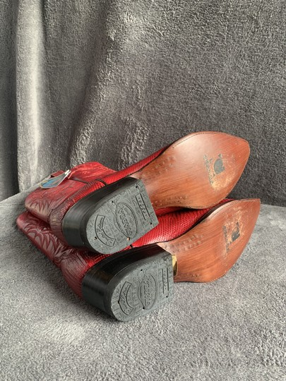 Cuadra Red Boots Image 4
