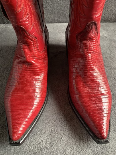 Cuadra Red Boots Image 5