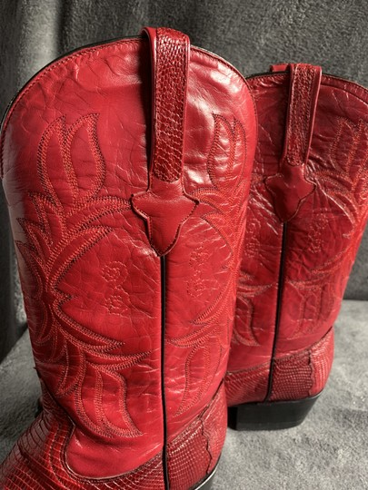 Cuadra Red Boots Image 6