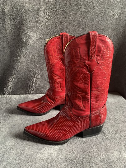Cuadra Red Boots Image 7