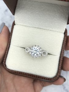 White Gold with 2.12ct. Engagement Ring