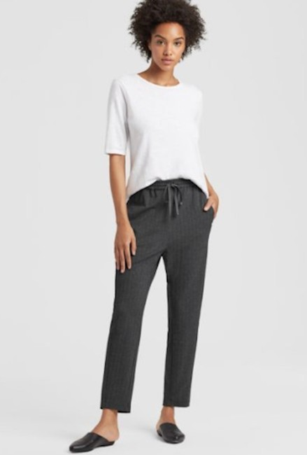 Eileen Fisher Theory Kate Spade Relaxed Pants Image 3
