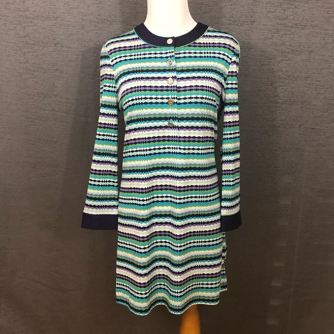 Tory Burch short dress Purple, Blue, White and Green on Tradesy Image 1