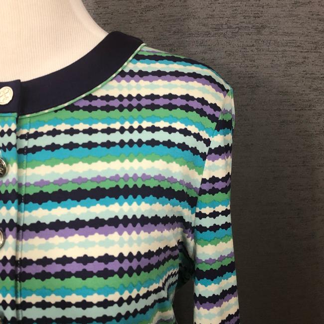 Tory Burch short dress Purple, Blue, White and Green on Tradesy Image 2