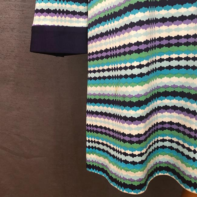 Tory Burch short dress Purple, Blue, White and Green on Tradesy Image 3