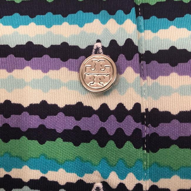 Tory Burch short dress Purple, Blue, White and Green on Tradesy Image 4