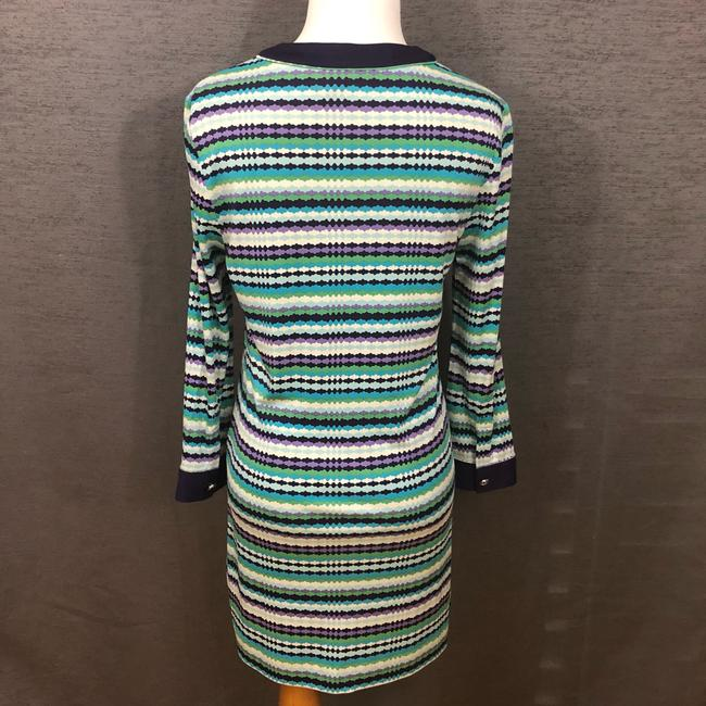 Tory Burch short dress Purple, Blue, White and Green on Tradesy Image 5