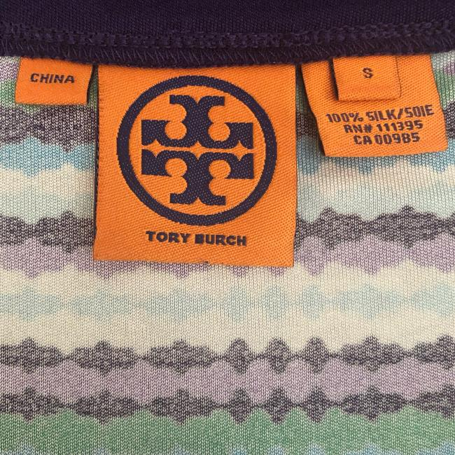 Tory Burch short dress Purple, Blue, White and Green on Tradesy Image 6