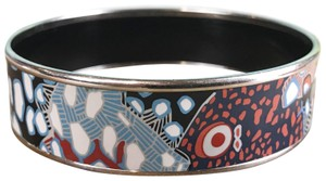 Hermès Hermes Blue Multi-Color Underwater Grand Fonds Enamel Bracelet SALE!