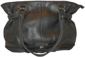 The Sak Leather Large Satchel Shoulder Bag