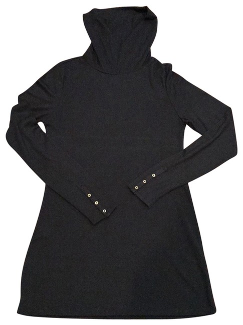 Preload https://img-static.tradesy.com/item/26021255/ann-taylor-loft-black-cowl-neck-sweater-tunic-size-4-s-0-3-650-650.jpg