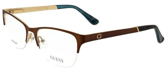 Guess GU2627-049-51 Eyeglasses Size 51mm 16mm 140mm Brown Image 0