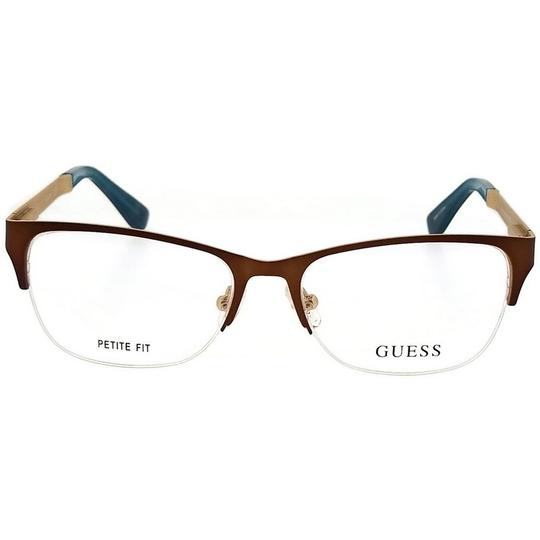 Guess GU2627-049-51 Eyeglasses Size 51mm 16mm 140mm Brown Image 1
