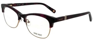 Nine West NW8002-630-52 Eyeglasses Size 52mm 17mm 135mm Berry Tortoise