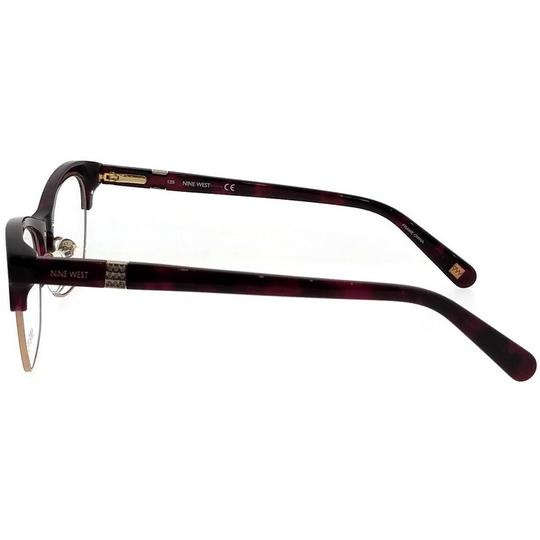 Nine West NW8002-630-52 Eyeglasses Size 52mm 17mm 135mm Berry Tortoise Image 2