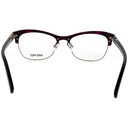 Nine West NW8002-630-52 Eyeglasses Size 52mm 17mm 135mm Berry Tortoise Image 3