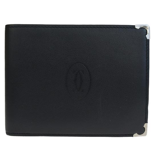 Preload https://img-static.tradesy.com/item/26021307/cartier-black-2c-logos-long-bifold-purse-leather-wallet-0-0-540-540.jpg