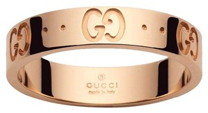 Gucci Icon Thin Band Ring Size 4.75