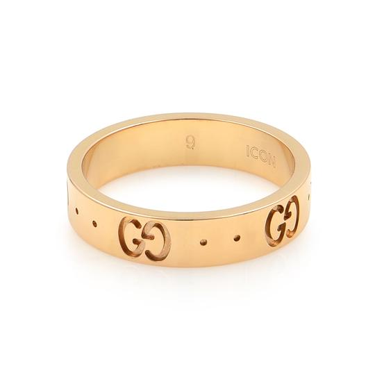 Gucci Icon Thin Band Ring Size 4.75 Image 1