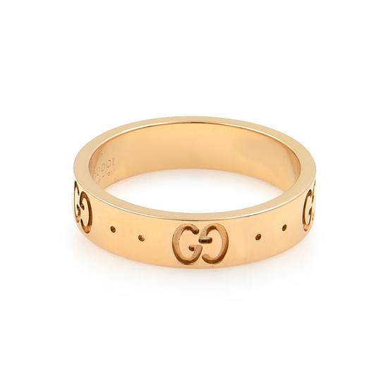 Gucci Icon Thin Band Ring Size 4.75 Image 2
