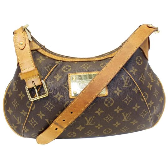 Louis Vuitton Lv Thames Pm Monogarm Canvas Shoulder Bag Image 2