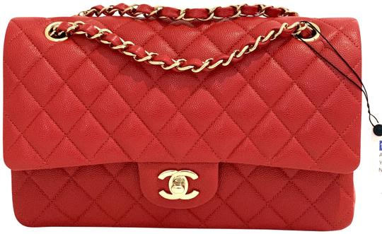 Preload https://img-static.tradesy.com/item/26021392/chanel-shopping-double-flap-medium-classic-red-gold-hardware-new-19b-rouge-caviar-leather-shoulder-b-0-1-540-540.jpg