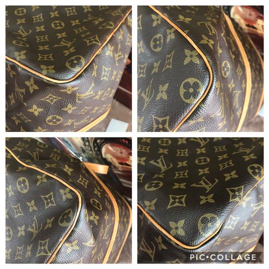 Louis Vuitton brown Travel Bag Image 10
